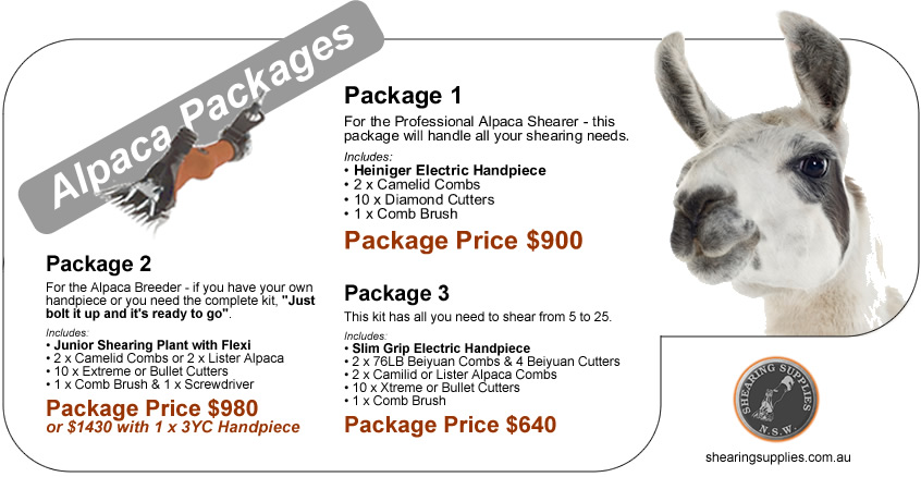 Alpaca Packages